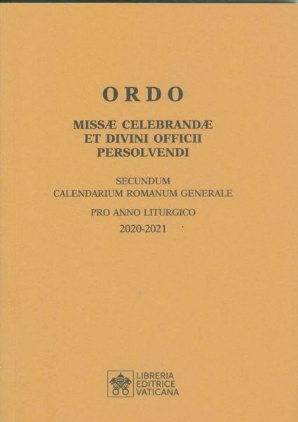 Picture of ORDO Missae Celebrandae et Divini Officii Presolvendi 2020-2021 Libreria Editrice Vaticana