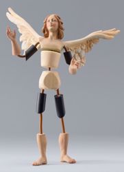 Picture of Angel Code08 cm 10 (3,9 inch) DIY undressed Homobonus Nativity in wood and copper