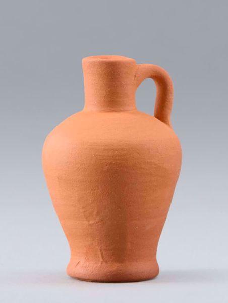 Imagen de Jarra de Terracota cm 30 (11,8 inch) Belén para vestir Homobono de madera y cobre