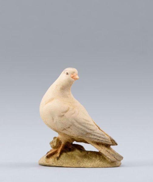 Imagen de Paloma cm 30 (11,8 inch) Belén para vestir Homobono de madera y cobre