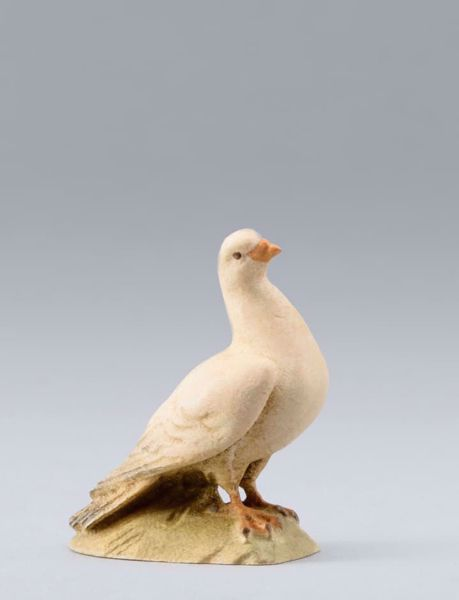 Picture of Pigeon cm 12 (4,7 inch) DIY undressed Homobonus Nativity in wood and copper
