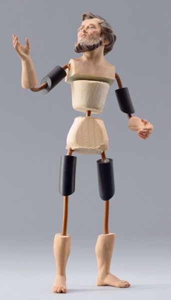 Picture of Figure Code14 cm 12 (4,7 inch) DIY undressed Homobonus Nativity in wood and copper