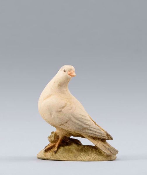 Picture of Pigeon cm 14 (5,5 inch) DIY undressed Homobonus Nativity in wood and copper