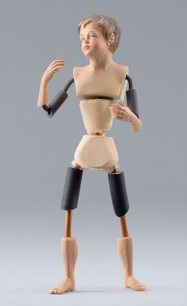 Picture of Figure Code26 cm 14 (5,5 inch) DIY undressed Homobonus Nativity in wood and copper