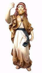 Imagen de Camellero cm 6 (2,4 inch) Belén Matteo estilo oriental colores al óleo en madera Val Gardena