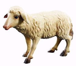Picture of Standing Sheep cm 28 (11,0 inch) Matteo Nativity Scene Oriental style oil colours Val Gardena wood