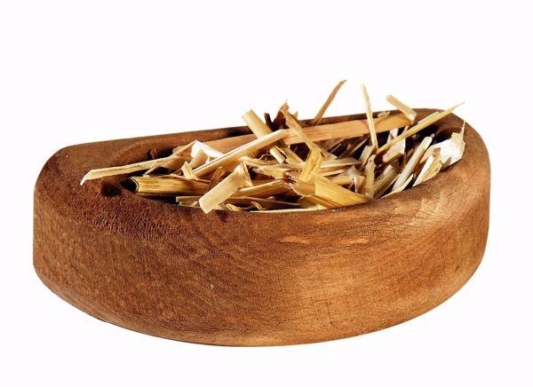 Imagen de Alimentador cm 10 (3,9 inch) Belén Aurora colores al óleo en madera Val Gardena con imán