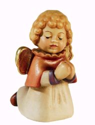 Picture of Angel cm 10 (3,9 inch) Aurora Baby Nativity Scene oil colours Val Gardena wood with magnet