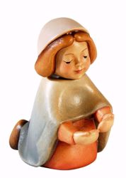 Picture of Mary cm 10 (3,9 inch) Aurora Baby Nativity Scene oil colours Val Gardena wood with magnet