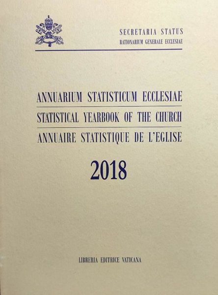 Picture of Annuarium Statisticum Ecclesiae 2018 / Statistical Yearbook of the Church 2018 / Annuaire Statistique de l' Eglise 2018