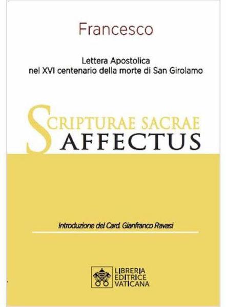 Imagen de Lettera Apostolica Scripturae Sacrae Affectus nel XVI centenario della morte di San Girolamo Papa Francesco