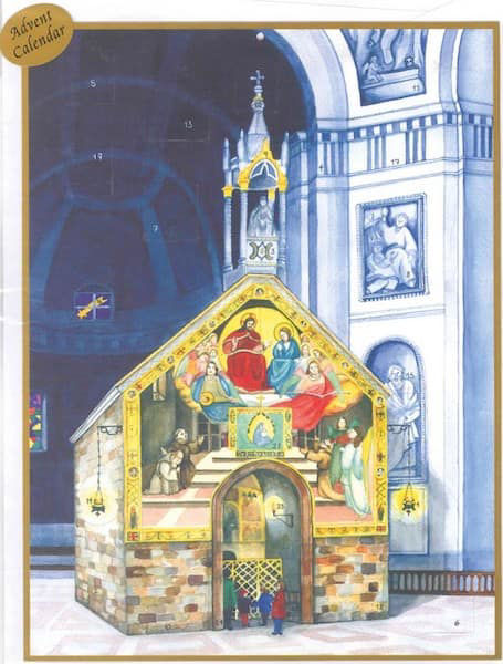 Imagen de Calendario de Adviento Navidad Porciúncula Asís 23x29 cm (9x11,4 inch)