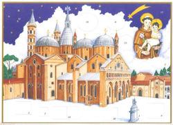 Imagen de Calendario de Adviento Navidad Basílica de San Antonio de Padua 24x34 cm (9x13,4 inch)