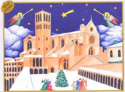 Imagen de Calendario de Adviento Navidad Basílica de San Francisco de Asís 22x30 cm (8,7x11,8 inch)