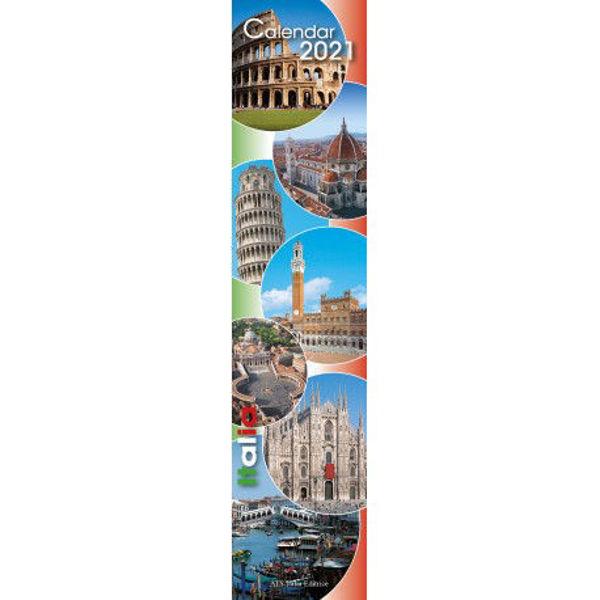 Immagine di Italia 2021 Calendario da muro cm 11x49
