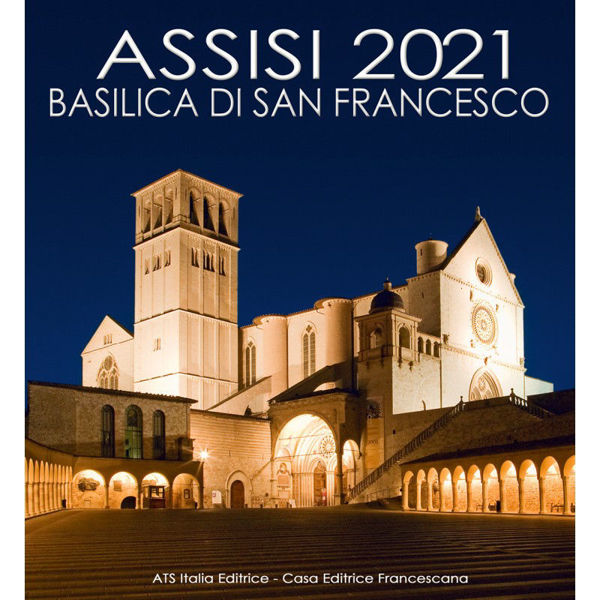 Immagine di Asís Basílica de San Francisco Calendario de pared 2021 cm 32x34 (12,6x13,4 in)