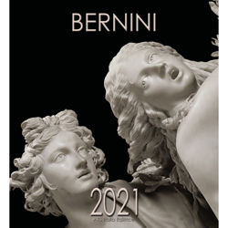 Imagen de Bernini 2021 wall Calendar cm 32x34 (12,6x13,4 in)