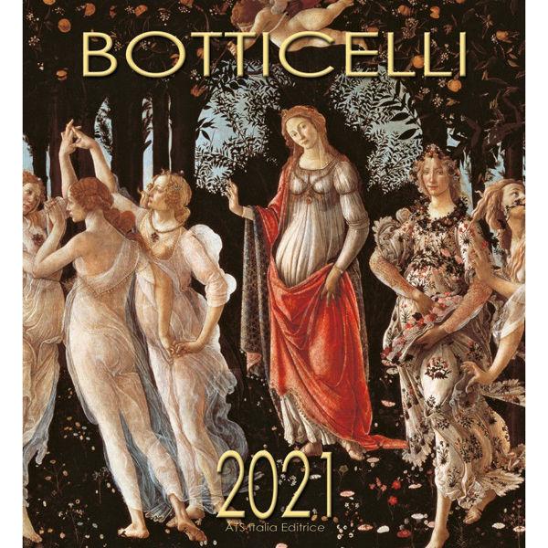 Imagen de Botticelli Calendario de pared 2021 cm 32x34 (12,6x13,4 in)