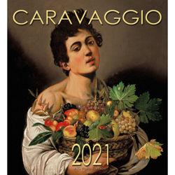 Imagen de Caravaggio Calendario de pared 2021 cm 32x34 (12,6x13,4 in)