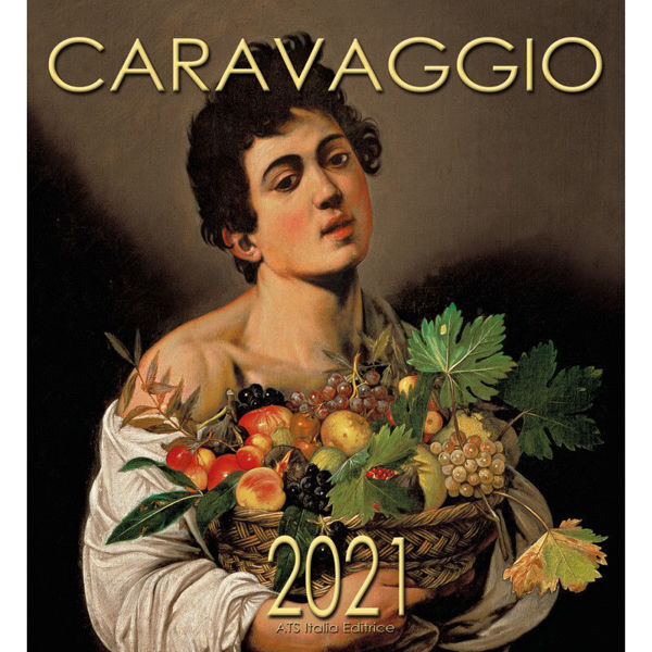 Picture of Caravaggio Calendario de pared 2021 cm 32x34 (12,6x13,4 in)