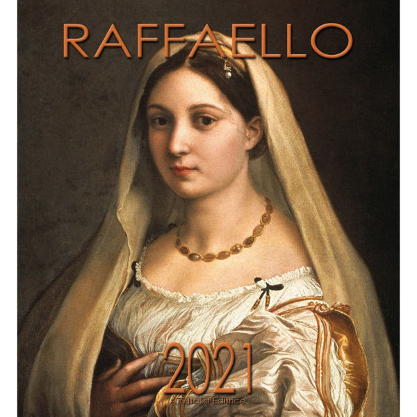 Picture of Raphael 2021 wall Calendar cm 32x34 (12,6x13,4 in)