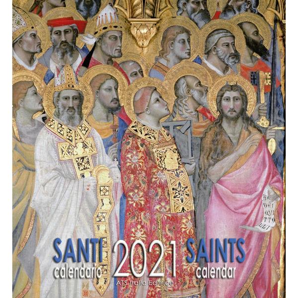 Picture of Heiligen Wand-kalender 2021 cm 32x34