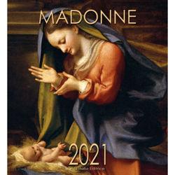 Picture of Calendario da muro 2021 Madonna con Bambino Correggio  cm 32x34