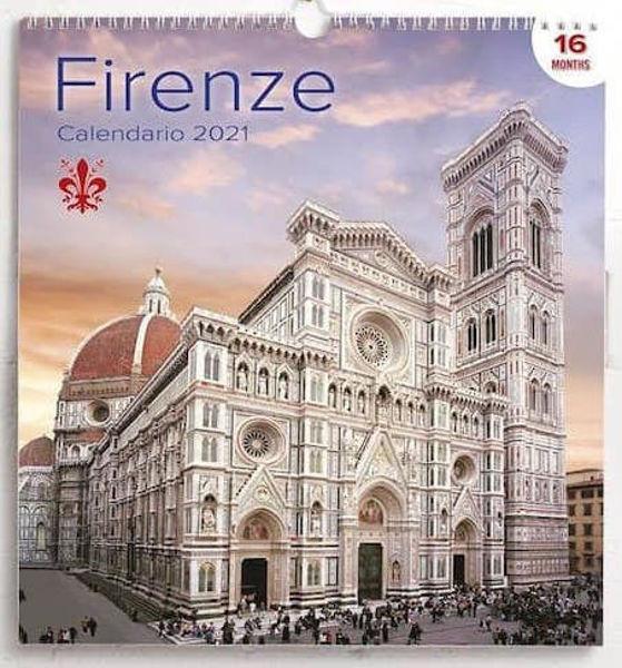 Immagine di Calendario da muro 2021 Firenze cm 31x33
