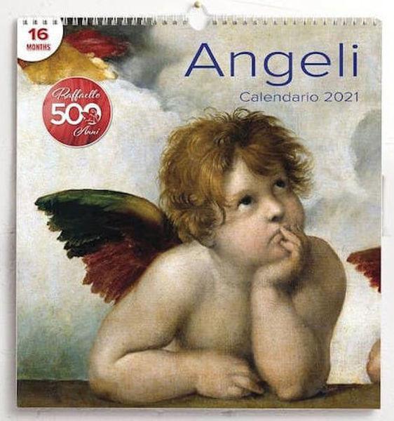 Imagen de Angels 2021 wall Calendar cm 31x33 (12,2x13 in)