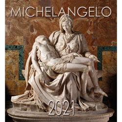Imagen de Calendario da muro 2021 Michelangelo Pietà cm 32x34