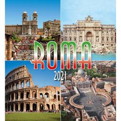 Imagen de Calendario da muro 2021 Roma giorno multiplo cm 32x34