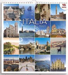 Imagen de Calendario da muro 2021 Italia cm 31x33