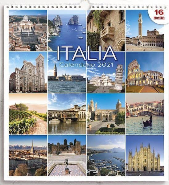 Picture of Calendario da muro 2021 Italia cm 31x33