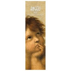 Immagine di Calendario segnalibro 2021 Angeli cm 6x20 (2)