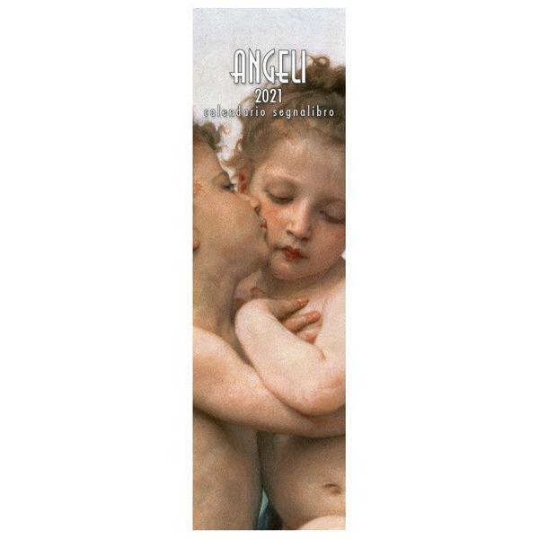 Immagine di Calendario segnalibro 2021 Angeli Primo Bacio cm 6x20