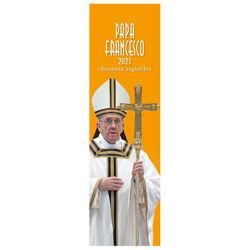 Imagen de Calendario segnalibro 2021 Papa Francesco cm 6x20 (2)
