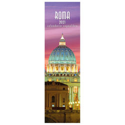Imagen de Calendario segnalibro 2021 Roma di notte cm 6x20