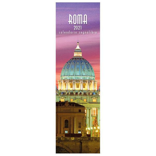 Picture of Calendario segnalibro 2021 Roma di notte cm 6x20