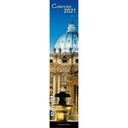 Imagen de Calendario da muro 2021 Roma by night cm 11x49