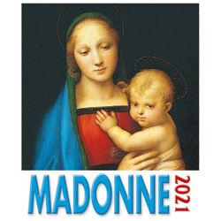 Picture of Calendario da tavolo e da muro 2021 Madonne Raffaello cm 16x17
