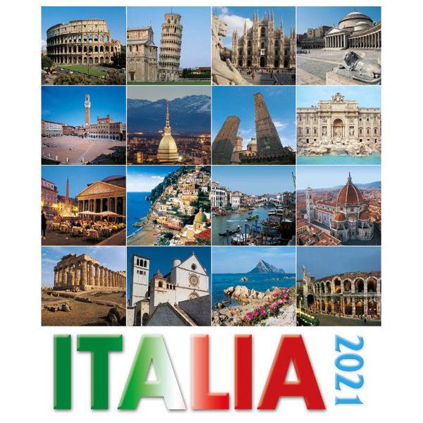 Picture of Calendario da tavolo e da muro 2021 Italia cm 16x17