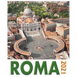 Picture of Calendario da tavolo e da muro 2021 Roma San Pietro giorno cm 16x17