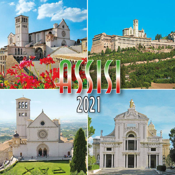 Picture of Assisi Calendario da tavolo 2021 cm 8x8