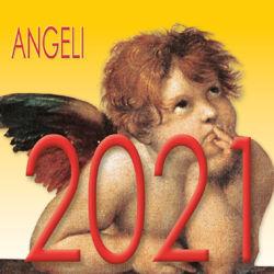 Immagine di Calendario da tavolo 2021 Angeli cm 8x8