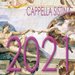 Picture of Cappella Sistina Calendario da tavolo 2021 cm 8x8