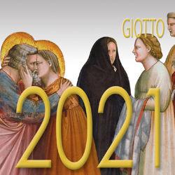 Imagen de Giotto Calendario da tavolo 2021 cm 8x8