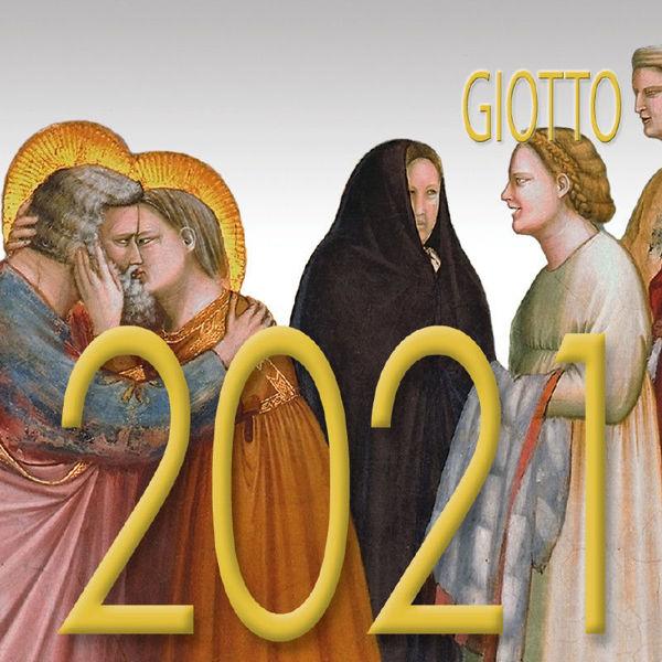 Immagine di Giotto Calendario da tavolo 2021 cm 8x8