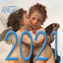 Immagine di Calendario da tavolo 2021 Angeli Primo Bacio cm 8x8