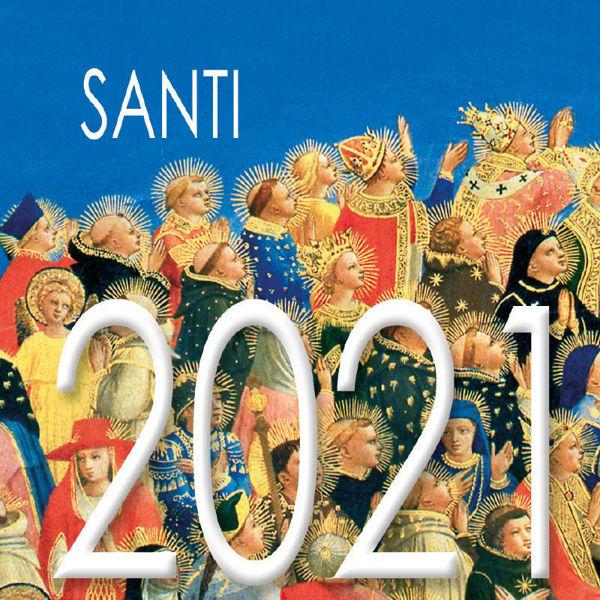 Imagen de Calendario da tavolo 2021 Santi cm 8x8