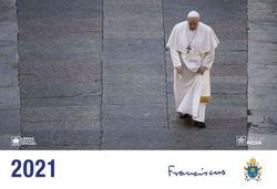 Picture of Calendario Oficial Papa Francisco 2021 cm 21x30 de pared LEV Libreria Editrice Vaticana